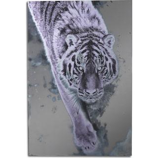 Silver Tiger Wall Art