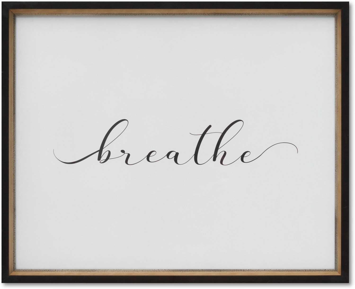Home Accessories - Breathe Wall Art