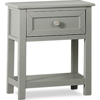 Flynn Nightstand - Gray