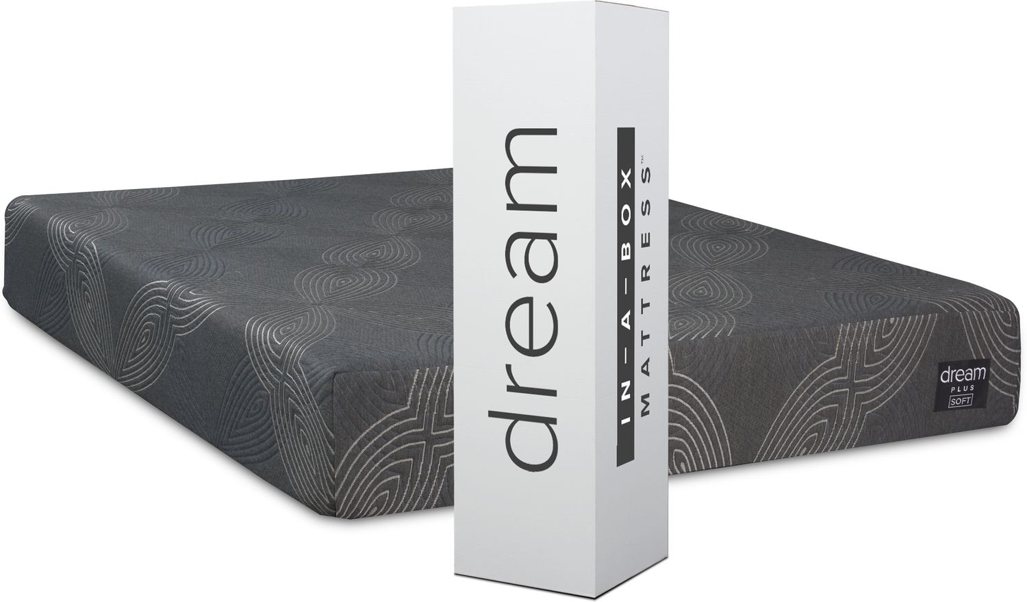 Mattresses and Bedding - Dream–In–A–Box Plus Soft Mattress