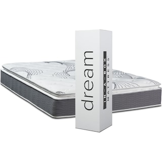 Dream–In–A–Box Premium Soft Full Mattress