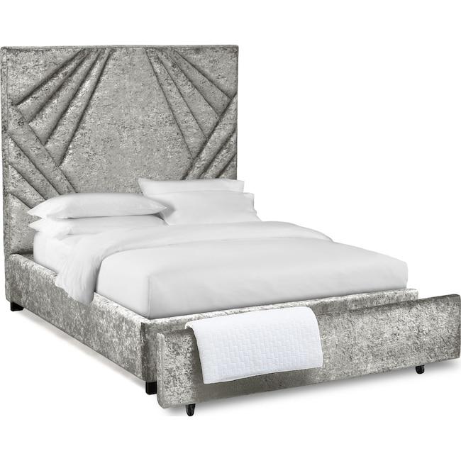 Bedroom Furniture - Kiera Upholstered Gem Storage Bed