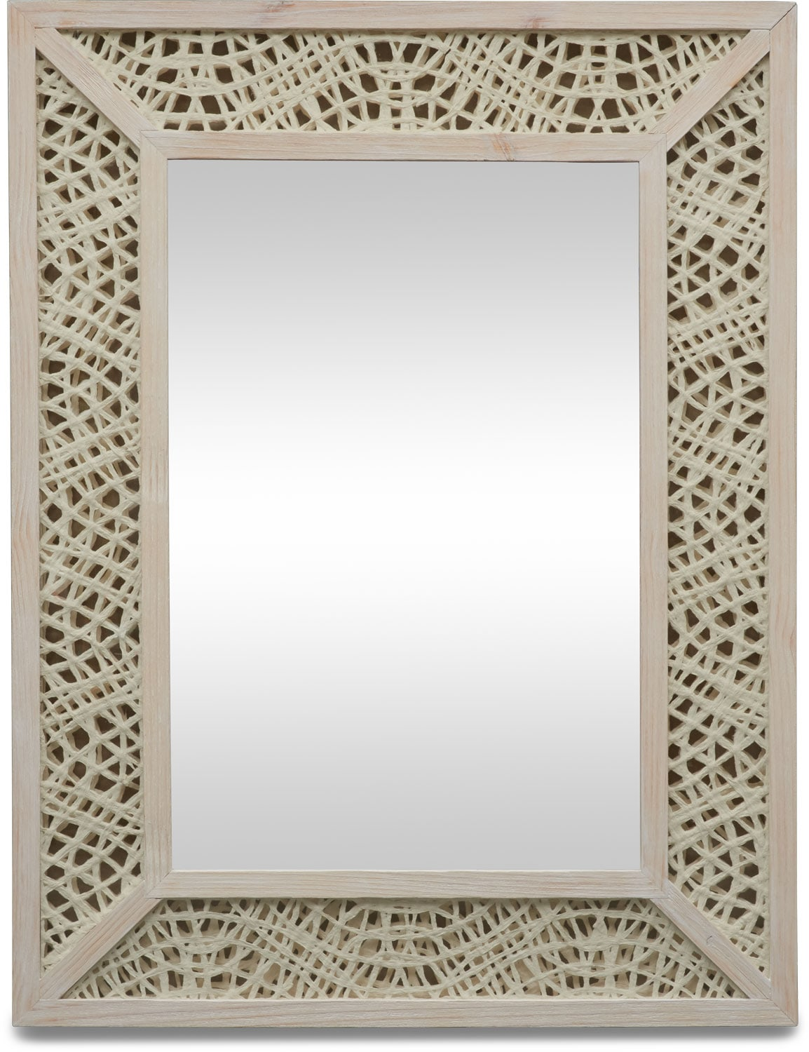 Home Accessories - Paper Art Wall Mirror