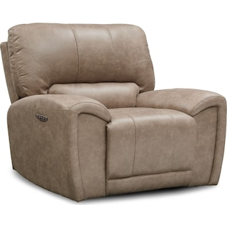 Gallant Dual-Power Recliner - Taupe