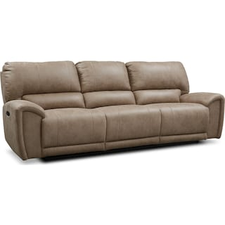 Gallant 3-Piece Manual Reclining Sofa - Taupe