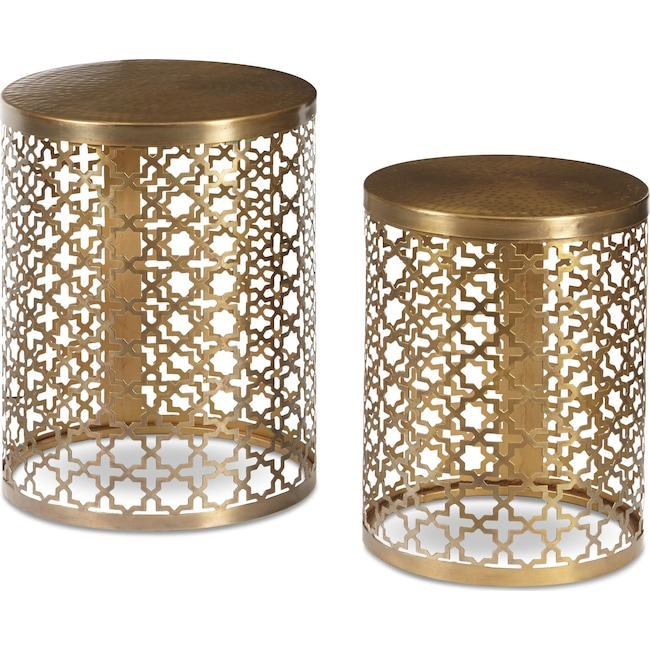Accent and Occasional Furniture - Ari Accent Table Set