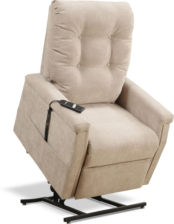 Living Room Furniture - Everett Power Lift Recliner