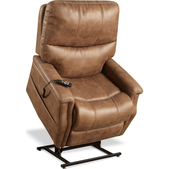 Living Room Furniture - Pasco Power Lift Recliner