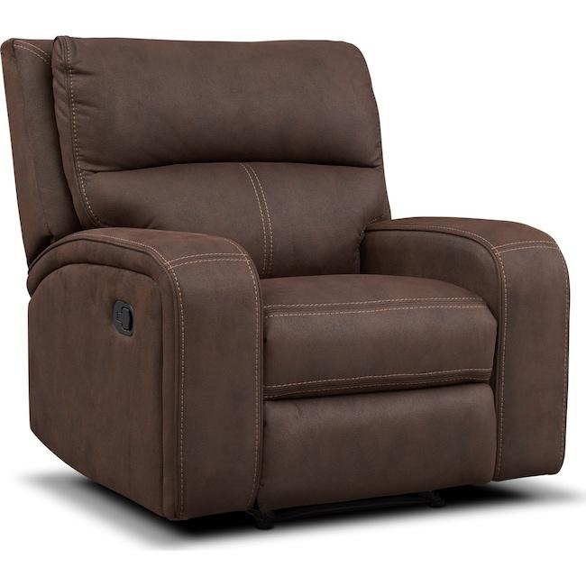 Living Room Furniture - Burke Manual Recliner