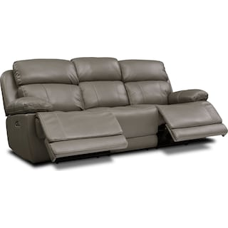 Monte Carlo Dual-Power Reclining Sofa and Loveseat Set
