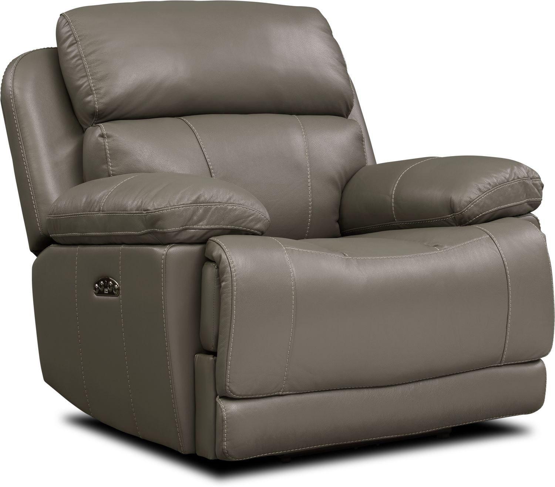 Living Room Furniture - Monte Carlo Dual-Power Recliner