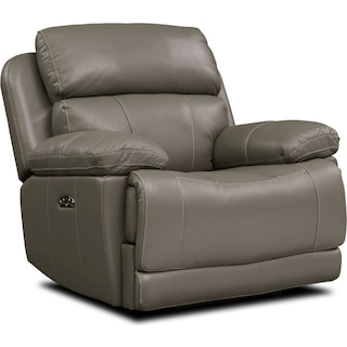 Monte Carlo Dual-Power Recliner - Gray