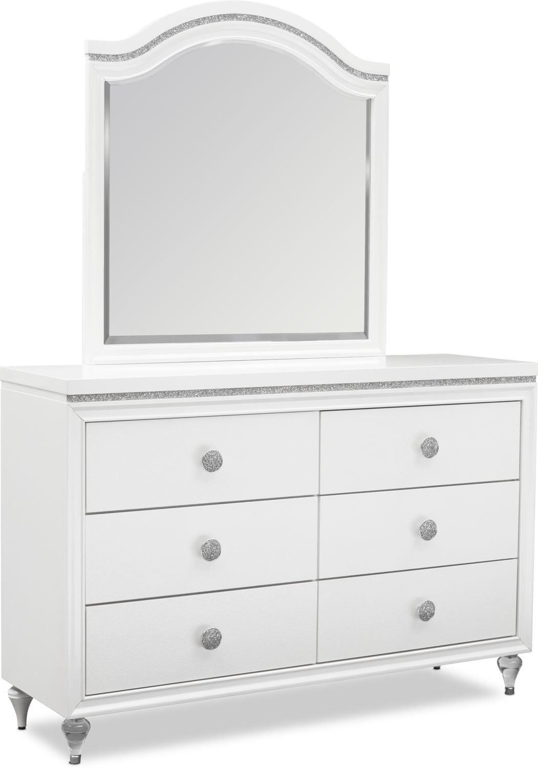 Kids Furniture - Sophia Dresser and Mirror