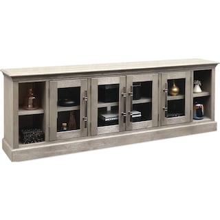 Telluride TV Stand - Parchment
