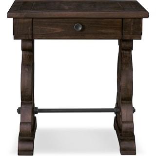 Charthouse End Table - Charcoal