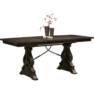 Charthouse Counter-Height Dining Table - Charcoal