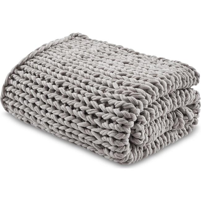 Accent and Occasional Furniture - Nora Knit Throw