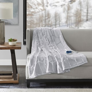 Cosette Heated Throw - Gray