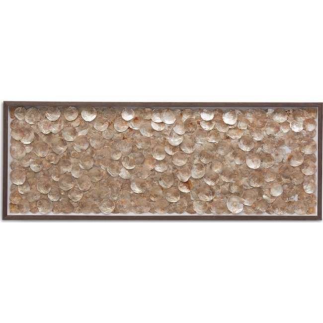 Home Accessories - Gold Shells Wall Art
