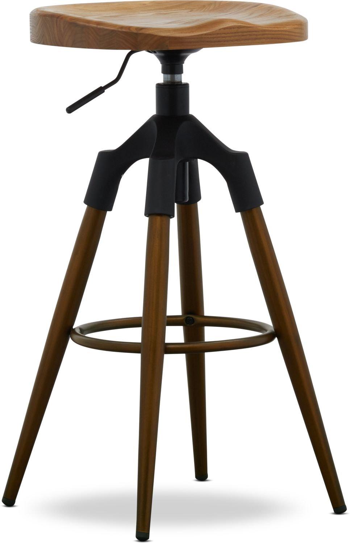 Dining Room Furniture - Oakland Adjustable Bar Stool