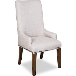 Charthouse Host Chair - Nutmeg