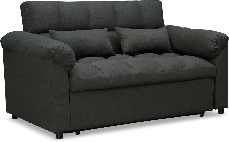 Living Room Furniture - Mariel Media Sleeper