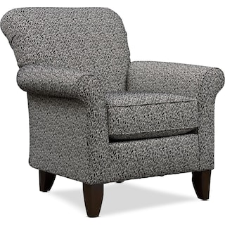 Kingston Accent Chair - Hurricane Onyx