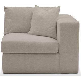 Collin Comfort Performance Right-Arm Facing Chair - Benavento Dove