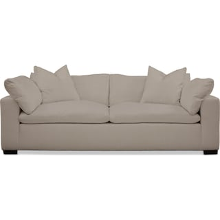 Plush Performance Sofa - Benavento Dove