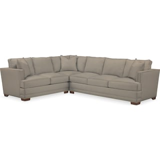 Arden Comfort Performance 2-Piece Large Sectional with Right-Facing Sofa - Benavento Dove