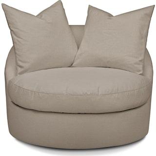 Plush Performance Swivel Chair