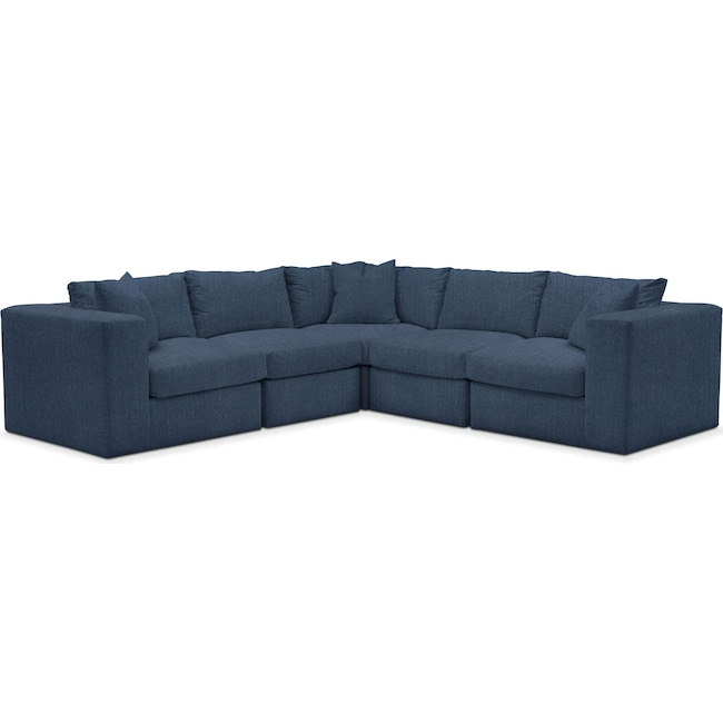 Living Room Furniture - Collin Performance 5-Piece Sectional