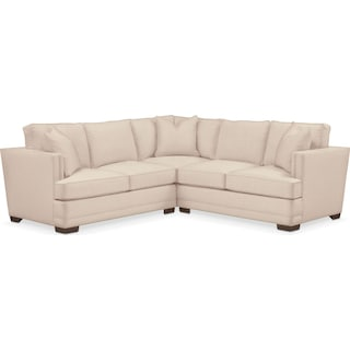 Arden Comfort Performance 2-Piece Small Sectional with Left-Facing Loveseat- Halifax Shell