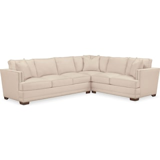 Arden Cumulus Performance 2-Piece Large Sectional with Left-Facing Sofa - Halifax Shell
