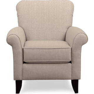 Kingston Accent Chair - Depalma Taupe