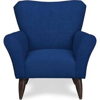 Kady Accent Chair - Abington Indigo