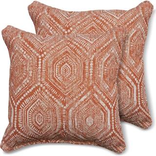2-Pack Custom Pillows -  Seaton Tangelo