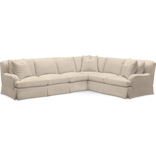 Campbell Comfort Performance 2-Piece Large Sectional with Left-Facing Sofa - Halifax Shell
