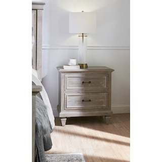 Harrison Nightstand - Gray