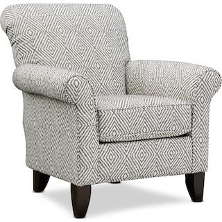 Kingston Accent Chair - Azumi Ebony
