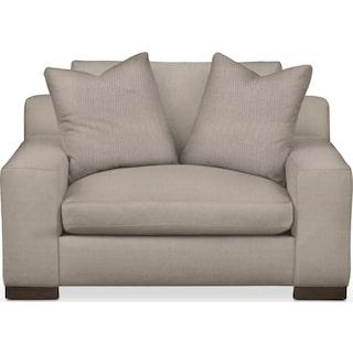 Ethan Comfort Chair and a Half - Weddington Cement