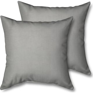 2-Pack Custom Pillows - Dudley Gray