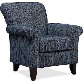 Kingston Accent Chair - Boho Midnight