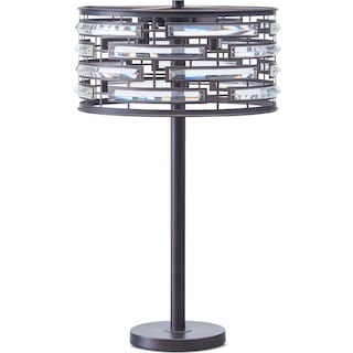 Crystal Bronze Table Lamp