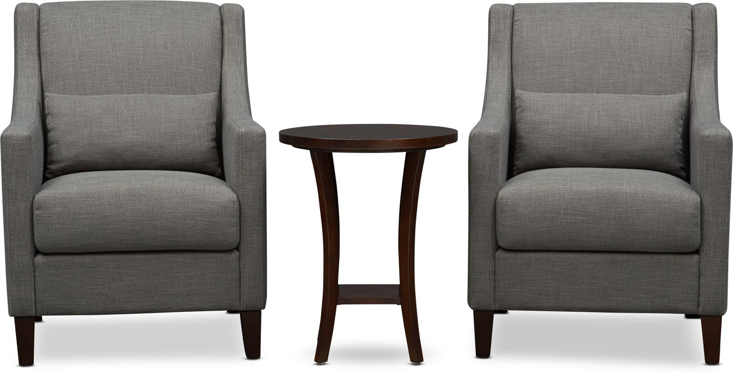 Living Room Furniture - Porter Table and Chairs
