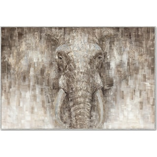 Painted Elephant Wall Art
