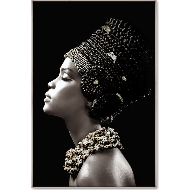 Home Accessories - Embellished Headdress Wall Art