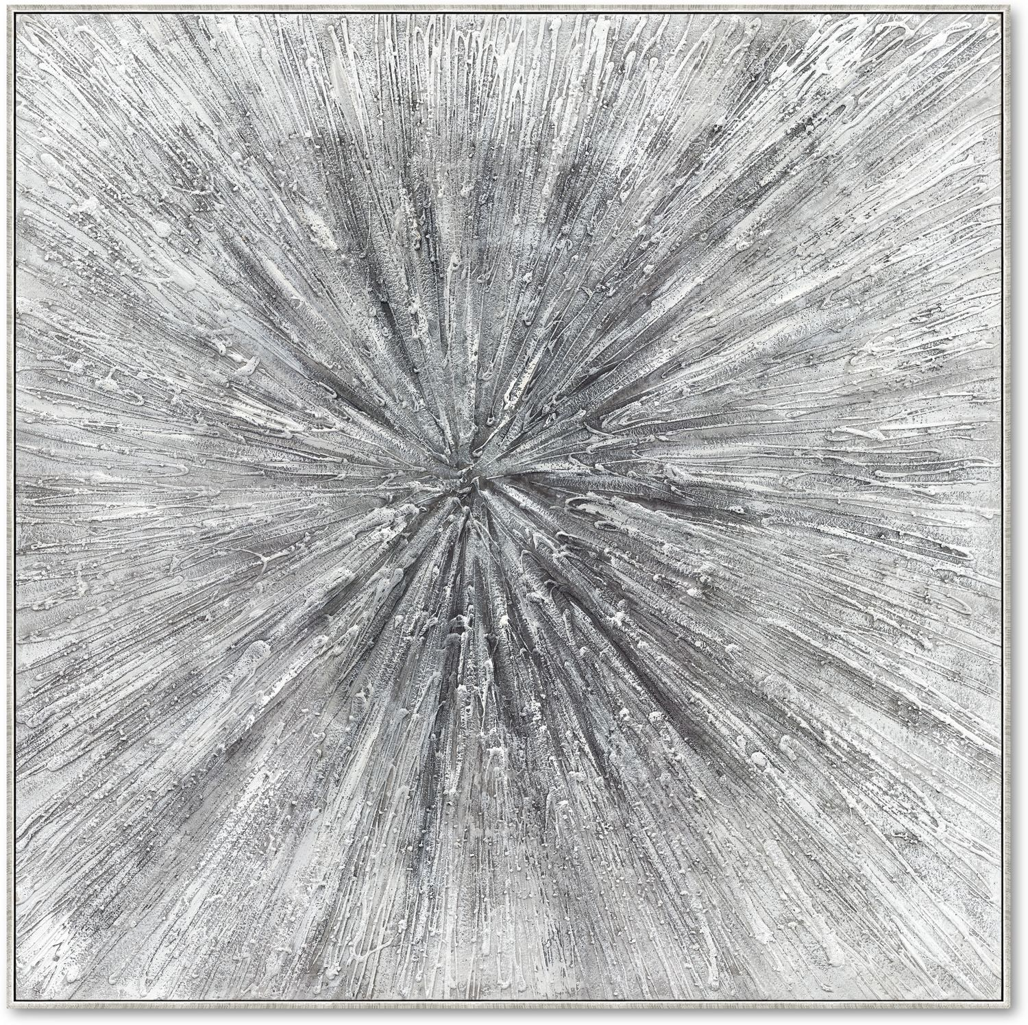 Home Accessories - Sparkle Silver Wall Art