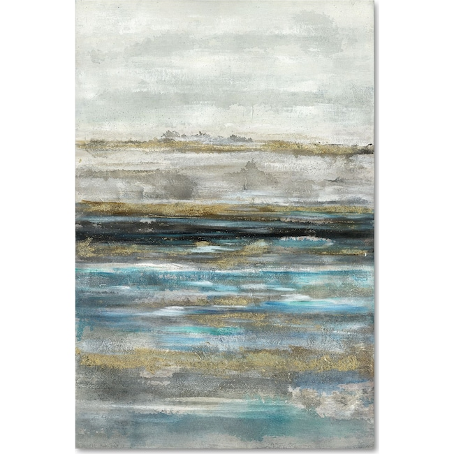 Home Accessories - Abstract Water Wall Art