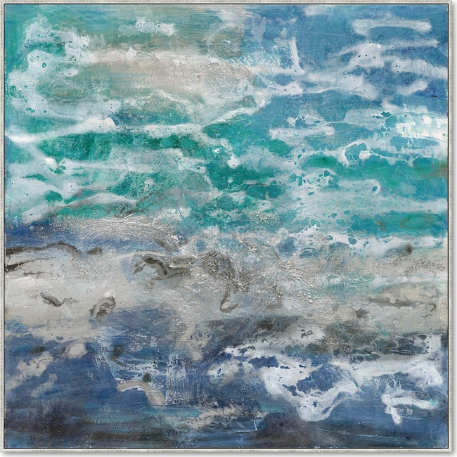 Home Accessories - Blue Water Wall Art